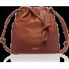 Yuzefi Pouchy Leather Bucket Bag - Hand bag -