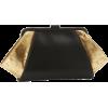 Z Spoke Zac Posen Posen Clutch Black/Gold - Clutch bags - $250.00