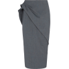 ZAC POSEN grey pencil skirt - Gonne -