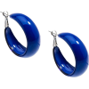 ZENZII TRENDY HOOP EARRINGS-COL - Earrings - $18.00