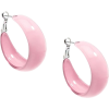 ZENZII TRENDY HOOP EARRINGS-PNK - Brincos - $18.00  ~ 15.46€