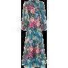 ZIMMERMANN Allia floral linen midi dress - 连衣裙 -