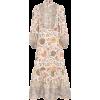 ZIMMERMANN Edie printed linen midi dress - Dresses -