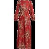 ZIMMERMANN  Juno Rosa Batik-print linen - Dresses -