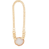 ZIMMERMANN Long agate & gold-plated chai - Necklaces -