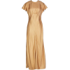 ZIMMERMANN Long dress in gold - Vestidos -