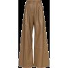 ZIMMERMANN.Wide Leg Leather Trousers - Giacce e capotti -