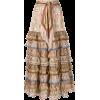 ZIMMERMANN tiered paisley print skirt - 裙子 -