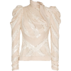 ZIMMERMANN unbridled chevron panel cotto - Long sleeves shirts -