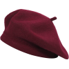 ZLYC Wool French Beret Hat Solid Color - Mützen - $13.99  ~ 12.02€
