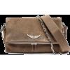 Zadig & Voltaire Rocky Suede Bag - Messaggero borse -