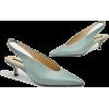 Zara slingback pumps in mint - Klasične cipele -