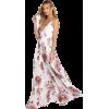 Zara Rose Chiffon Dress - Dresses -