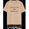 Zara T shirt in taupe - T-shirts -