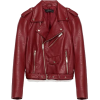 Zara leather jacket in red - Chaquetas -