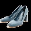 Zara powder blue velvet heels - Classic shoes & Pumps -