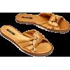Zara satin slippers - Halbschuhe -