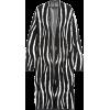 Zebra Duster Cardigan Sweater - Pullovers - $149.00  ~ £113.24