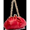 Zelda Frame Bag Nappa Leather Red - バッグ クラッチバッグ -