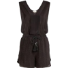 Zeus+Dione Ione Textured silk playsuit - Overall -