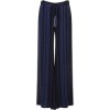 Zeus+Dione alcestes wide leg silk pants - Capri hlače -
