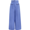 Zimmerman Blue Safari Pants - Spodnie Capri -