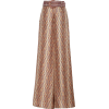 Zimmermann Belted Printed Silk Wide-Leg - Spodnie Capri -