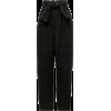 Zimmermann Espionage High-Waisted Croppe - Spodnie Capri -