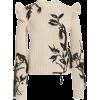Zimmermann Lucky Shoulder Frill Sweater - Košulje - duge -