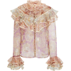 Zimmermann Lucky Tiered Blouse - Camicie (lunghe) -