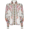 Zimmermann Ninety-Six Printed Chiffon Sh - Long sleeves shirts -