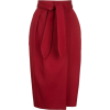 Юбка вишня теплая - Skirts -
