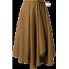 Юбка коричневая широкая - Saias -