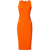 Платье оранж без рукава - Платья -