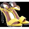 Босоножки желтый с черным - Zapatos clásicos -