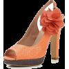Босоножки оранж - Klasični čevlji -