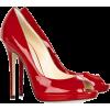 Туфли красные на шпильке - Classic shoes & Pumps -