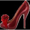 Туфли нарядные винный - Classic shoes & Pumps -