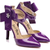 Туфли фиолетовые с бантом - Classic shoes & Pumps -