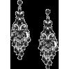 Серьги черные - Earrings -