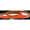 Ремень тонкий оранж - Belt -