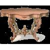 Розовый столик рококо - Passerella -