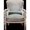 кресло голубое рококо - Passerella -