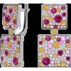 Серебряные серьги Фиеста - イヤリング - $57.93  ~ ¥6,520