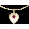 Золотой кулон Соединение сердец - Other jewelry - $74.44  ~ 63.94€