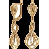 Золотые серьги Вечерние - Other jewelry - $134.98  ~ 115.93€