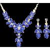 Колье и серьги с сапфирами - Other jewelry -