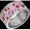 Серебряное кольцо Фиеста - リング - $59.23  ~ ¥6,666