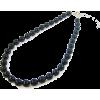 マジョルカパール10mm玉プリンセスネックレス/ブラック - Necklaces - ¥7,140  ~ $63.44