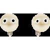 マジョルカパール12mm玉イヤリング/イエローホワイト - Earrings - ¥3,570  ~ $31.72